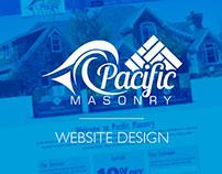 Pacific Masonry Website