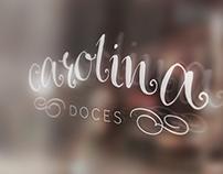 Logotipo Carolina Doces