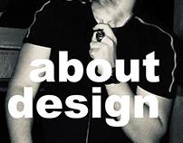 """Continuação do projecto """"about design"""""""