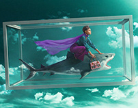 Shark Tank Girl by Sagmeister & Walsh