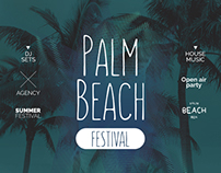 Palm Beach Festival Flyer | PSD Template