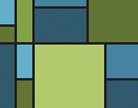 Color Theory Mondrian Exersize