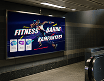 Gym Advertising and Poster Design