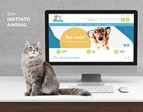 WebSite Instinto Animal