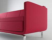 Bernhardt Design / Gaia Sofa / 3ds Max 2014 - Vray
