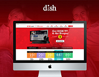 DISH - Website Revamp - Strategy + Design