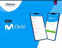 Movistar Click - UX UI Design