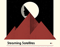 Steaming Satelllites Tour 2016 Screenprint