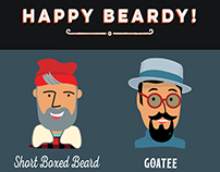 Beardy Men Greetings