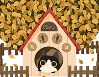 cat's autumn