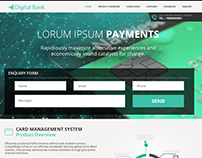 Digital bank (Payment Gateway)