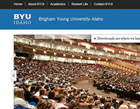 BYUI Homepage Redesign