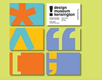 ISTD - Design Museum New Identity Design