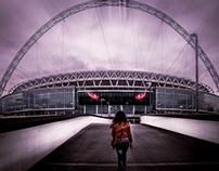 Wembley - my favourite place in London!