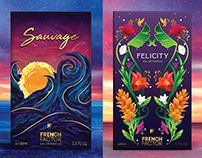 French Factor - Perfume Packaging Design