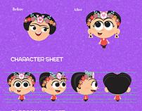 Character Redesign: FridaPOP