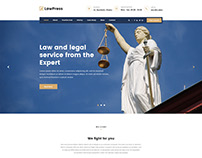 LawPress - Law, Lawyer, Attorny and Law Agency Template