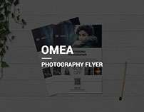 Omea Minimal Photography Flyer