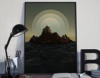 Simple Scene in Photoshop & Blender