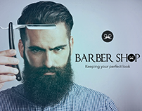 Barber Shop Online UI Design