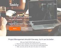 Taskly Website