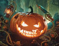 Halloween Pumpkin CGI