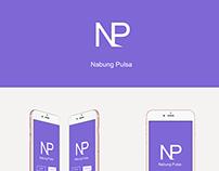 Nabung Pulsa - App design concept