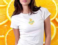 Fruit5 Smoothie Logo & Branding