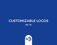 Customizable logos vol. 14.