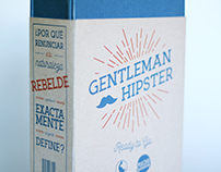Gentleman Hipster - Packaging