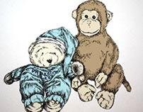 Stuffed Toy Illustrations