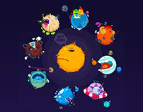 Funny Planet - Game Concept