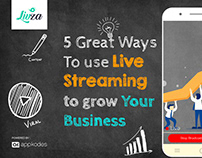 5 great ways to use live streaming to grow your busines