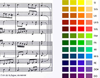 Colors and music