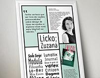 Poster - Zuzana Licko