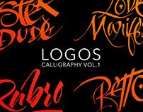 Calligraphy Logos Vol. 1
