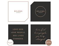 Belong Church | Brand Package