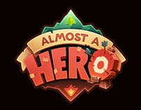 UX/UI on Almost a Hero game
