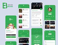 Etkinlik Burada App UI/UX Design