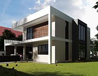 A modern house for a progressive family