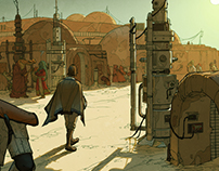 Mos Eisley Morning