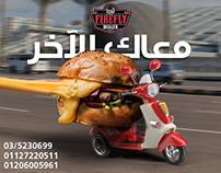 Firefly Burger Egypt Social Media