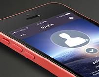 UI/UX Fictitious Mobile App Concept