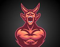 Demon - Mascot
