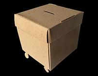 no glue coin box