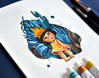 Illustration | Babygirl
