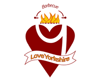 Love Yorkshire Barbecue logo