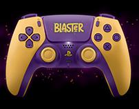 Identidade Visual: Blaster Inc