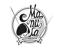 Manula Mushroom Logo
