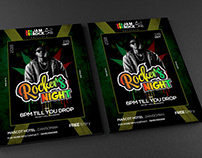 REGGAE VIBE PARTY FLYER